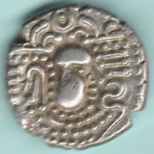 ANCIENT INDIA 3/4 CENTURY INDO SASSANIAN EMPIRE SILVER DRACHM RARE COIN