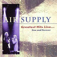 Greatest Hits Live: Now & Forever by Air Supply (CD, Feb-2009, Giant)