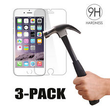 3-Pack 3pcs For iPhone 7 / 7 Plus Tempered GLASS Screen Protector Bubble Free