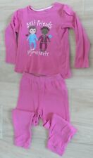 510 – Pyjama épais rose jersey 5-6 ans « Best Friends » TEX
