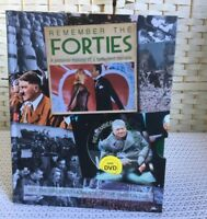 Nostalgia Remember the Forties Hardback Book With DVD History