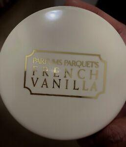 French Vanilla Dusting Powder by Dana Perfumes Corp. Sealed. Net Wt. 49g/1.75oz