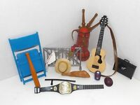 Lot of Assorted Wrestling Props and Accessories (Piper): Great for Crafts {4110}