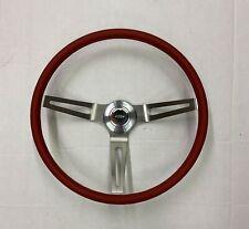 1969 1970 1971 1972 1973 1974 1975 Camaro Comfort Grip Red Steering Wheel Kit