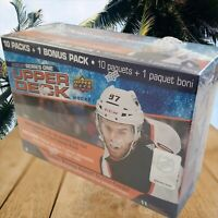 New UPPER DECK NHL Mega Box Series 1 HOCKEY 2020-21 Trading Cards Factory Sealed