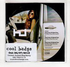 (GP144) Jessy Lanza DJ Spinn & Taso, You Never Show Your Love - 2015 DJ CD