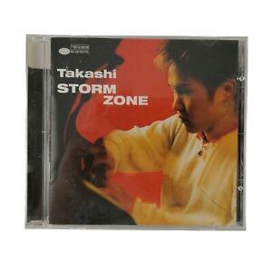 Takashi - Storm Zone - Takashi CD Jazz Music Piano - VGC FAST SHIP