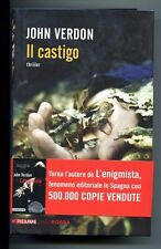 John Verdon # IL CASTIGO # Piemme Linea Rossa 2012 Nuovo-Libro Thriller