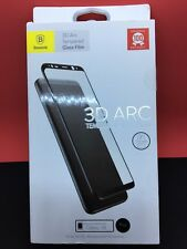 Preium Baseus 3D Arc Vidrio Templado Film Protector de pantalla completa Samsung S8/8 Plus