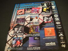 WORLD FAMOUS BEAT JUNKIES Blackalicious MYKILL MIERS more 2000 PROMO POSTER AD