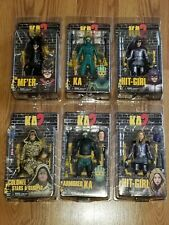 KICK ASS 2 ACTION FIGURES SET OF 6 (SOLD OUT!) MINT! Neca Comic Book
