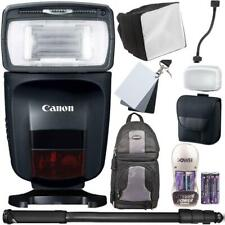Canon Speedlite 470EX-AI Hot-Shoe Flash with Top Accessory Kit and Backpack
