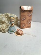 Age 2 Blonde Growing Up Birthday Girls Enesco ~ Vintage Cake Topper? Mint Ob