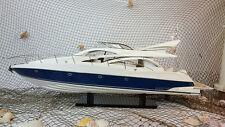 Handcrafted Sunseeker Manhattan 64 Display Model Yacht