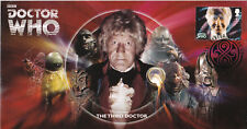 2013 Dr Who (Stamps) - Scott 3rd Doctor Official (Unsigned)
