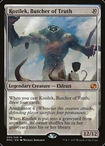 Kozilek, Butcher of Truth Mtg magic the gathering  single Modern Masters 2015 NM