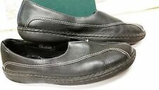 Clarks Womens Black Loafers Size 11 (298202)
