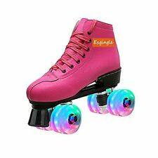 New listing Exgingle Roller Skates Women Indoor Outdoor Artistic Skates for Youth and Adu...