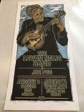 Screen Printed Gig Poster - The Levon Helm Band - Limited Edition