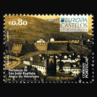 "Azores 2017 - EUROPA Stamps ""Palaces and Castles"" - MNH"