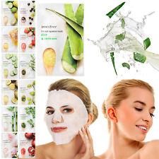 Innisfree naturel Masques faciaux hydratante produits de beauté peau du visage
