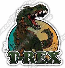 Sticker Decal Dinosaur T-Rex Tyrannosaurus Rex Vehicle st5 RS59W