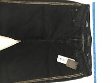 Liver Pool Jean Company Women's Jeans Tuxedo Rolled Jean Size 6/28 Cami Crop