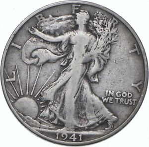 1941-S Walking Liberty Half Dollar - TC *433