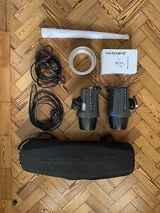 Elinchrom D-Lite RX 4 Kit - 2 flashes, umbrella, 6 inch reflector, spare bulb