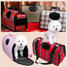 M Scotland Cream Pet Dog Cat Puppy Portable Travel Carry Carrier Tote Cage Crate
