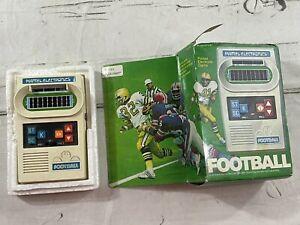 Vintage 1977 Mattel Electronic Football In Box Original  - TESTED