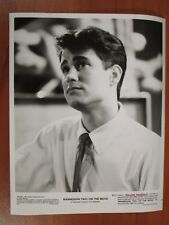 Vintage Glossy Press Photo William Ragsdale Actor Mannequin Two: On the Move