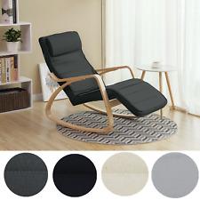 Schaukelstuhl Relaxstuhl Schwingsessel Lehnstühle Stühle Ruhesessel Birkenholz