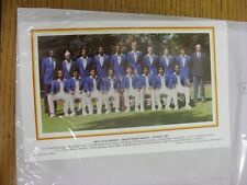 Aug-1987 Cricket: Rest Of The World Team Group, For The Bicentenary Match, Full