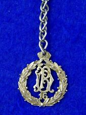 German Germany WWI WW1 Silver 800 Marked Regimental Badge Pin Medal Order