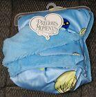 NWT Baby Boy Blanket Precious Moments BLUE