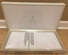 NEW Pottery Barn Kids Silver Leaf First Year Frame **no mat**