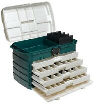 4 Tackle Drawer Box Plano Fishing Hobby Supplies Tools Bait Lure Large Storage