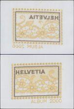 Switzerland - Silk Miniature Sheet - Mint Stamp D32