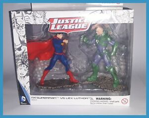 Schleich Box New Pack Of 2 Figurines Superman Vs Lex Luthor 22541 Justice League