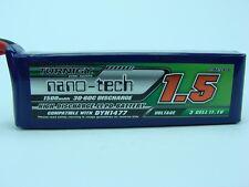 Turnigy nano-tech 1500mAh 3S 11.1V 30C Battery EC3 Plug