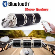 Bluetooth Motorcycle Handlebar Audio Amplifier Stereo Speaker System MP3 USB/TF