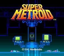 Super Metroid - SNES Super Nintendo Game