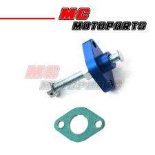 Blue CNC Manual Cam Chain Tensioner For Suzuki DRZ 400 E/S/SM 00- 05 06 07 08 09