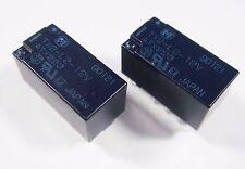 100 x bipolares Relais 12V 2xUM 220V 2A Panasonic TX2-L2-12V Gold #12R42#