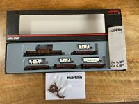 "Marklin spur z scale/gauge SBB ""Zirkus Knie"" Train Set. Rare."