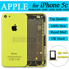 Yellow Back Battery Cover For iPhone 5C Replacement Housing Rear Case Mid Frame