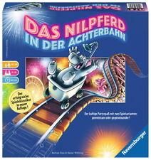 Ravensburger Familienspiel Partyspiel Nilpferd in der Achterbahn 26772