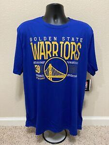 Golden State Warriors Basketball NBA Steph Curry #30 Adidas jersey T-Shirt XL