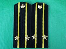 Soviet USSR Navy Force Officer 2nd Rank Captain Shirt Uniform Epaulets.